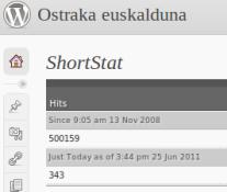 Ostraka.mundua.com 500 mila ziztada