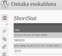 Ostraka.mundua.com 3 urte