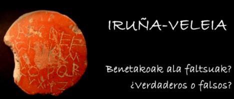 Iruña Veleia benetakoak ala faltsuak