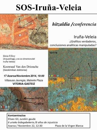 Hitzaldia Iruña Veleia 6 urte