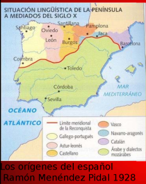 origenes español Ramon menendez pidal 1928